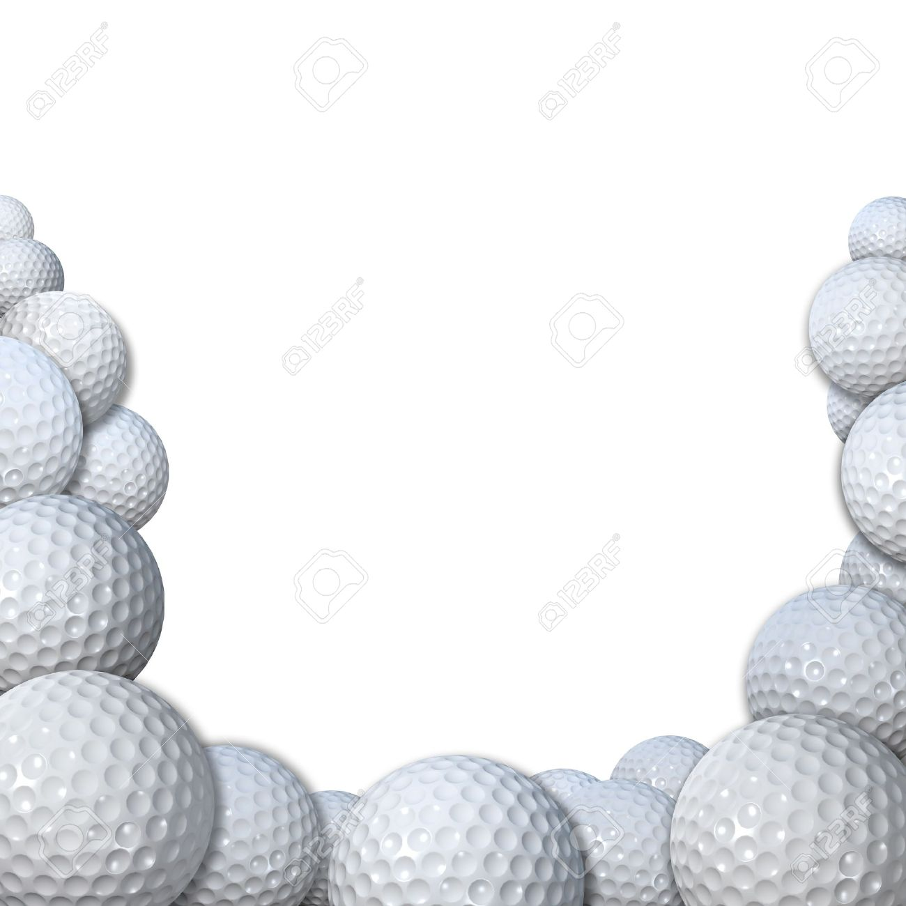 Free Golf Clipart Borders.