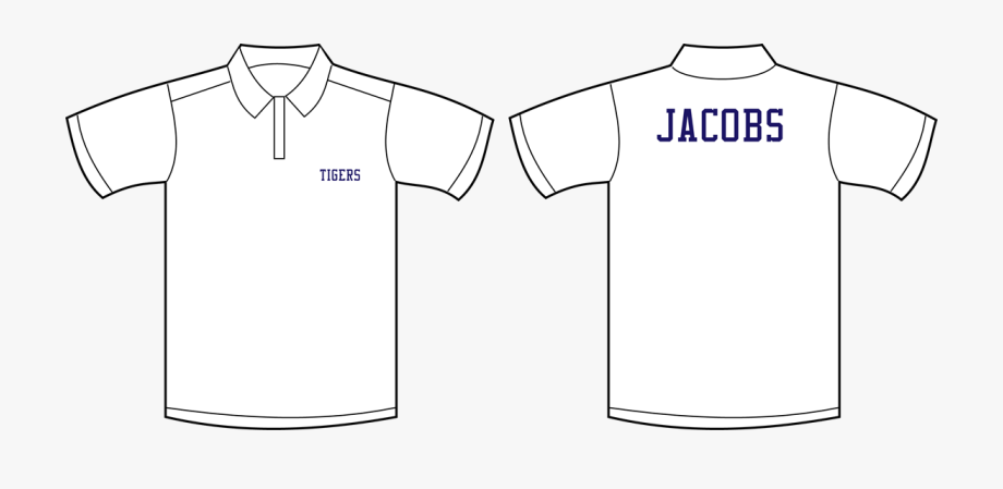 Picture Of Set Of Team Polo Shirts.