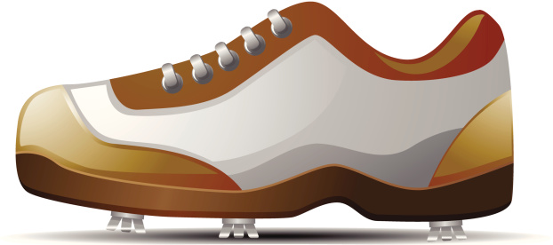 Golf Shoe Clip Art, Vector Images & Illustrations.
