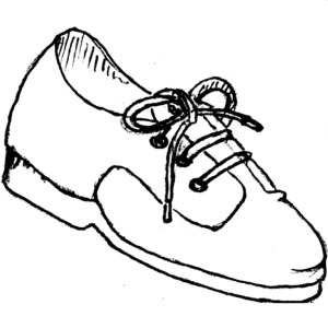 Golf Shoes Clipart.