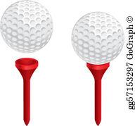 Golf Tee Clip Art.