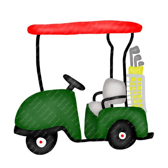 Watercolor Golf PNG.