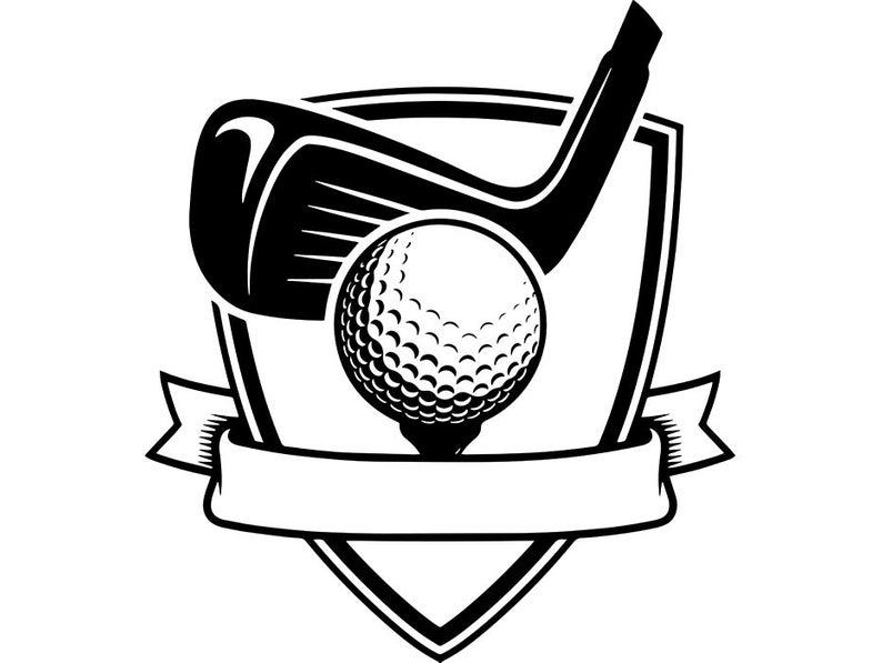 Golfing clipart logo, Golfing logo Transparent FREE for.