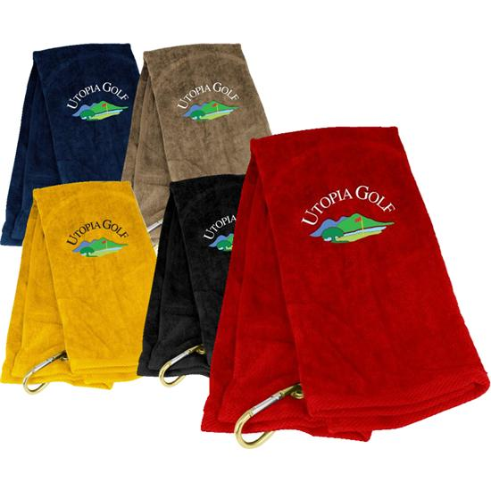 Golf towels with Logos.