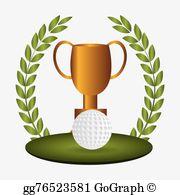 Golf Trophy Clip Art.