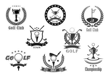 3,523 Golf Logo Stock Illustrations, Cliparts And Royalty Free Golf.
