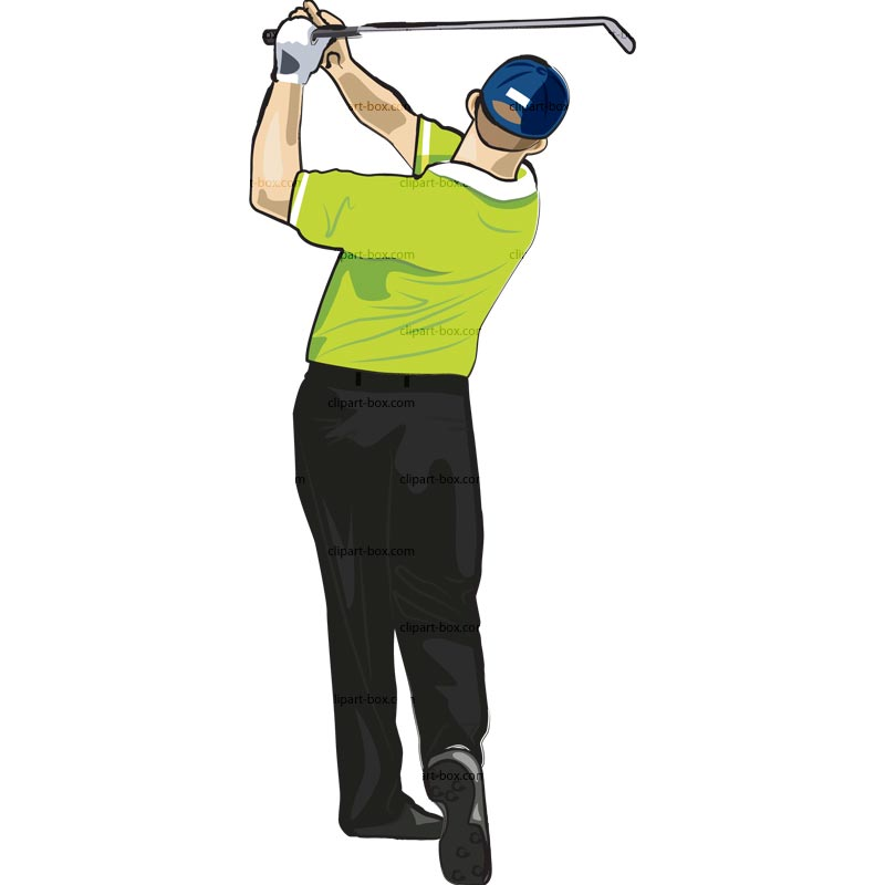Watch more like Golf Swing Clip Art.