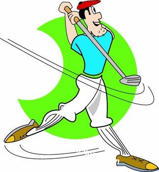 Golf Clip Art Funny.