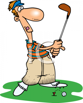 Golf Birthday Clipart.