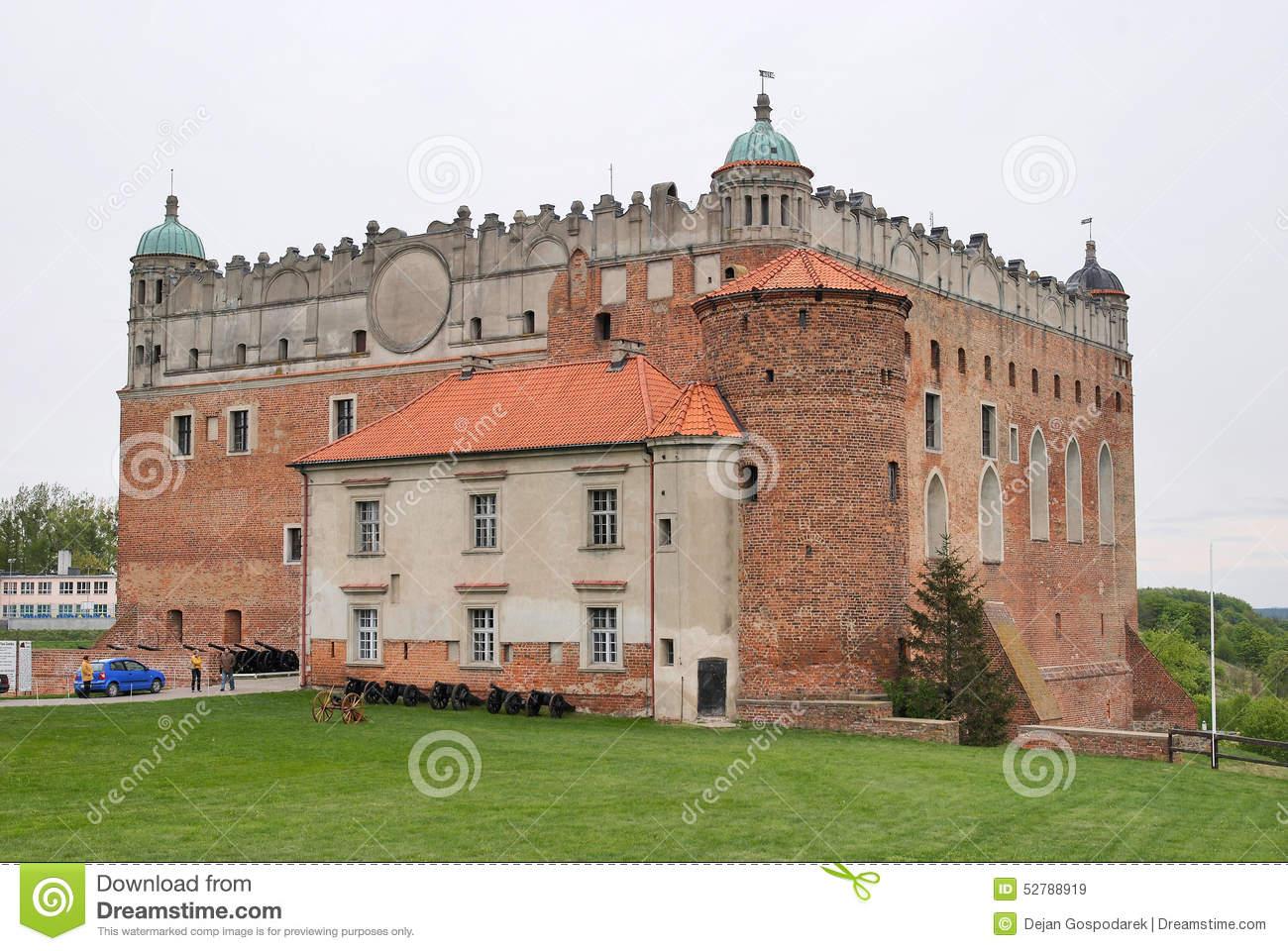 Castle In Golub.