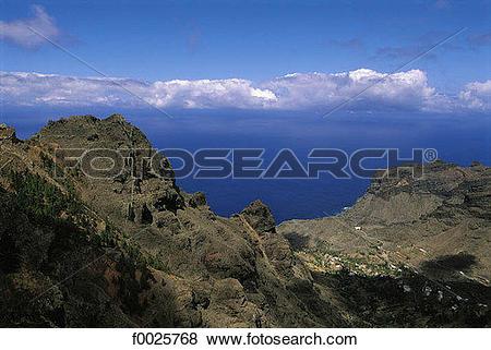 Pictures of Spain, Canary Islands, La Gomera, Valle Gran Rey.
