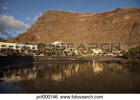 "Stock Images of ""Spain, Canary Islands, La Gomera, Valle Gran Rey."