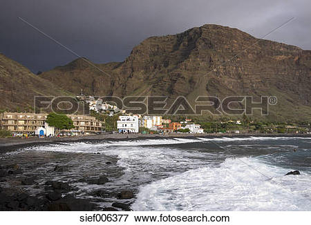 Picture of Spain, Canary Islands, La Gomera, Valle Gran Rey, La.