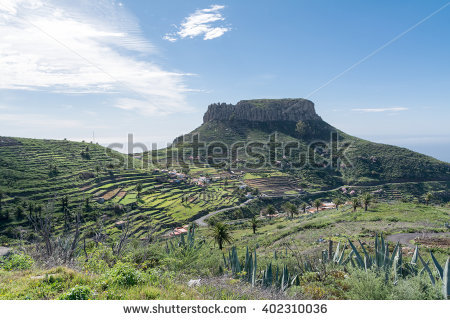 La Gomera Stock Photos, Royalty.