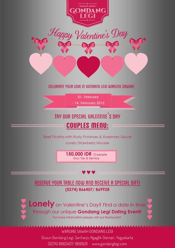 Valentine in Gondang Legi Warung Sawah! #valentine #love #couple.