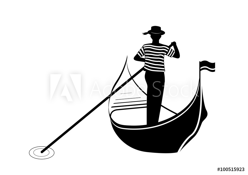 Photo & Art Print Gondolier.