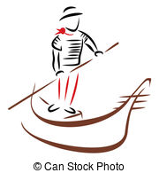 Gondolier Clipart and Stock Illustrations. 307 Gondolier vector.