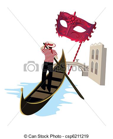 Gondolier Clipart and Stock Illustrations. 314 Gondolier vector.