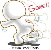 Gone away Clipart and Stock Illustrations. 152 Gone away vector.