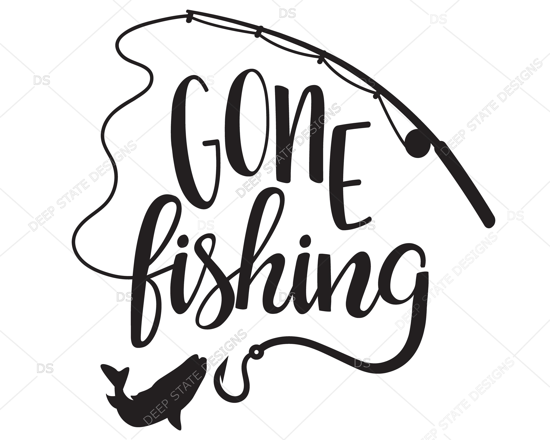 Gone Fishing Vector at GetDrawings.com.