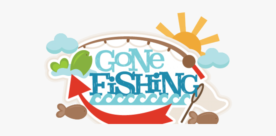 Gone Fishing Clipart , Transparent Cartoon, Free Cliparts.