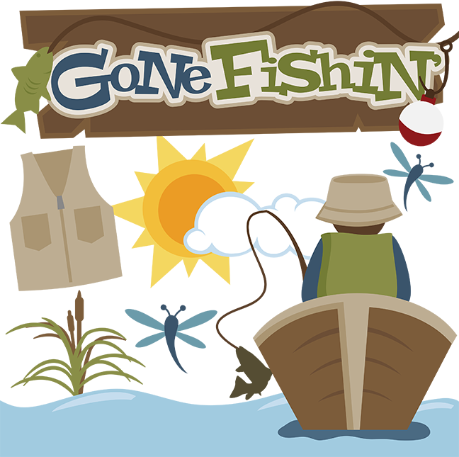 Gone Fishin' SVG files for cutting machines fishing svg files for.