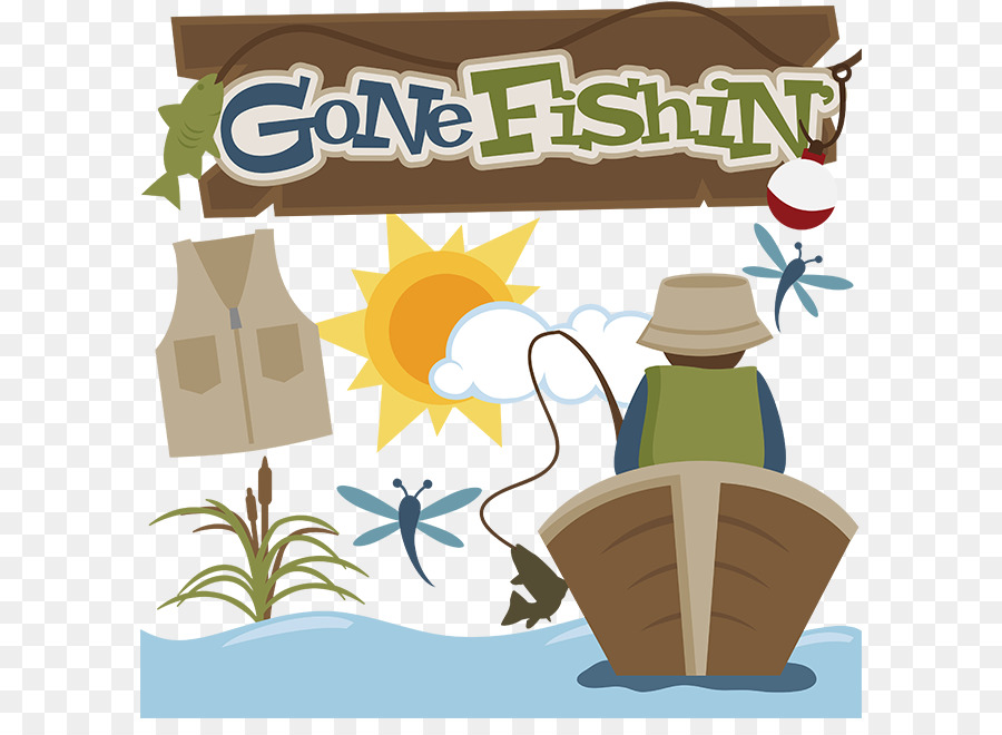 Gone Fishing Clipart Free.