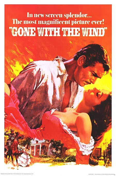 Gone with the wind clipart.