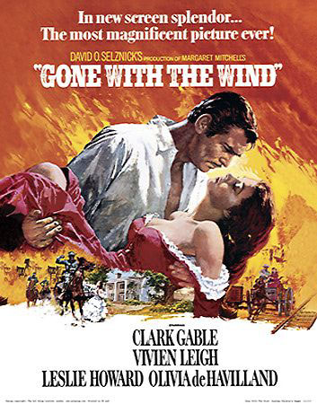 Gone with the wind clip art.