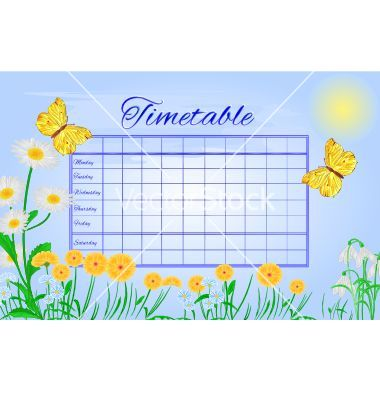 Timetable butterfly gonepteryx rhamni vector by Tina55.