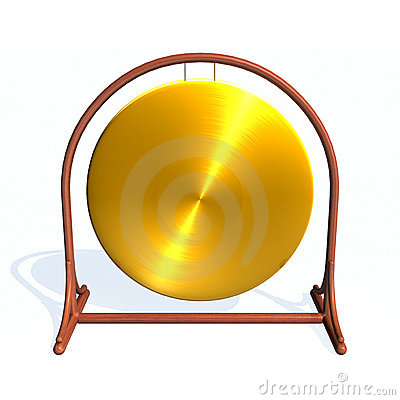 Gong Stock Images.