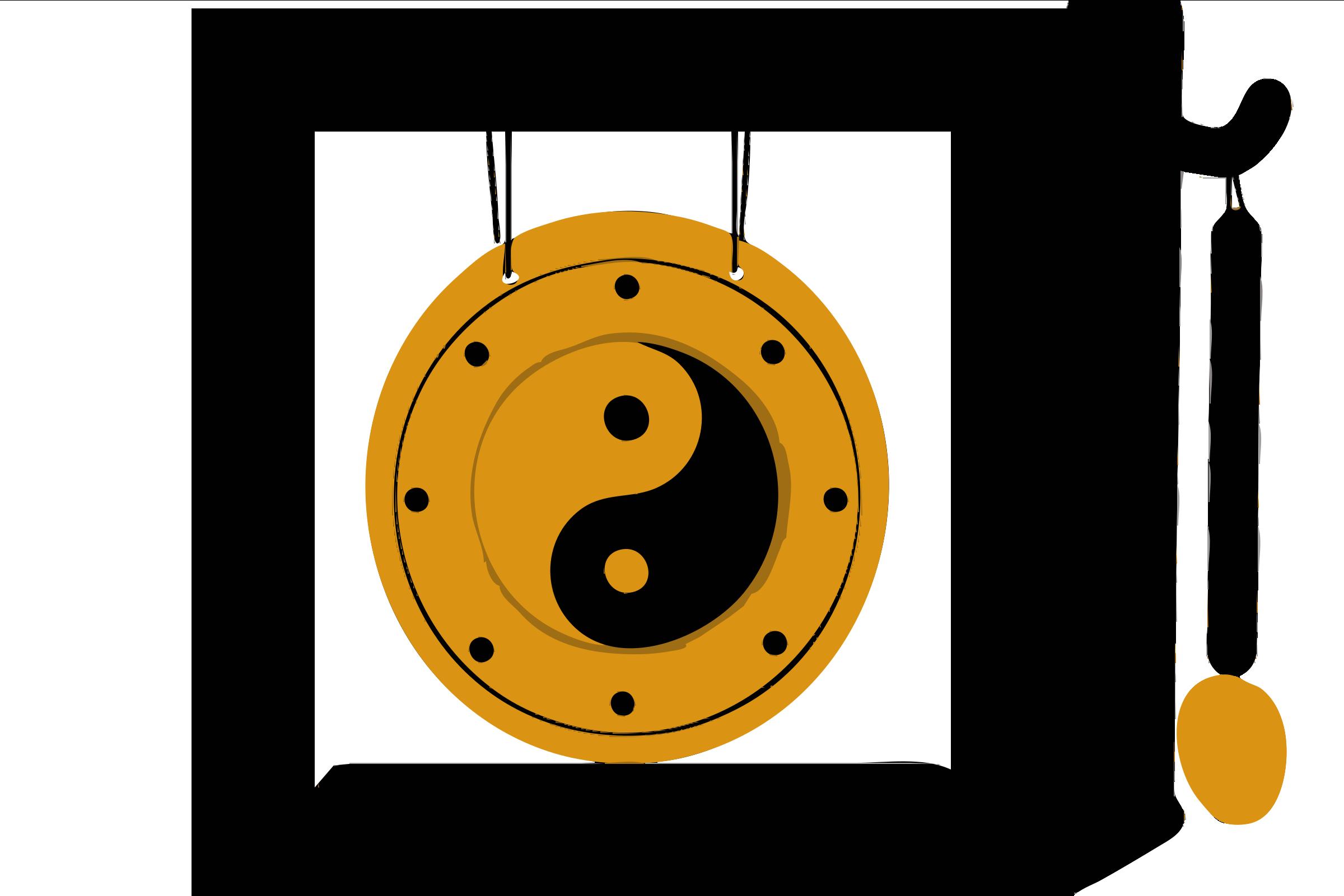 Gong Clipart.