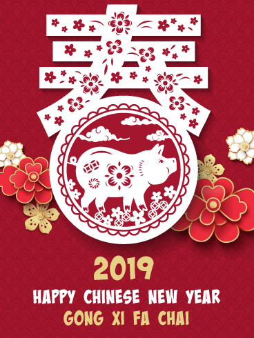 The year of the pig is among us and this Happy Chinese New.