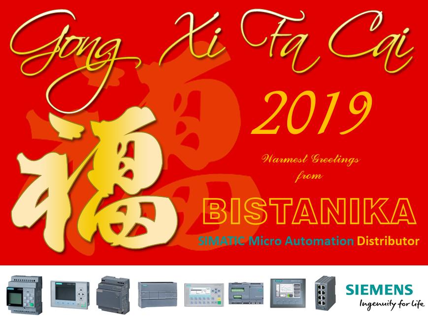BISTANIKA SDN BHD: GONG XI FA CAI 2019.