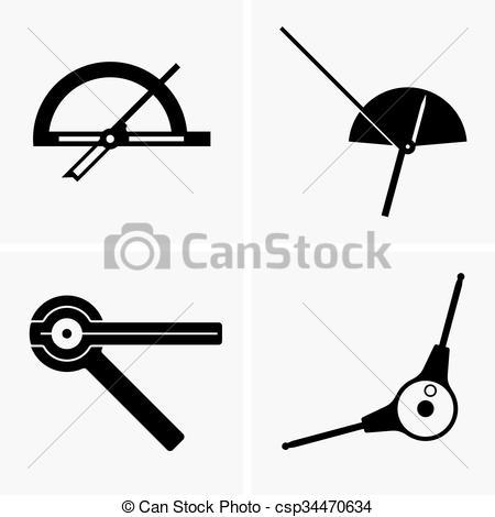 Goniometer Vector Clipart Illustrations. 3 Goniometer clip art.