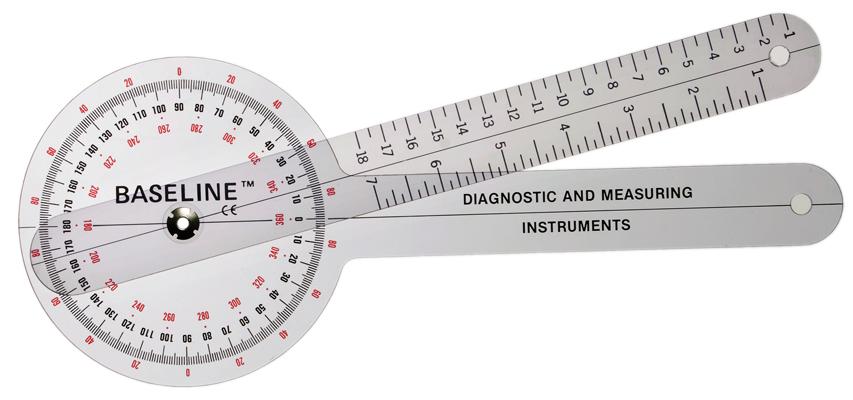 Goniometers and Rulongmeters.