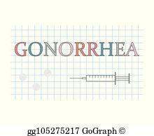 Gonorrhea Clip Art.