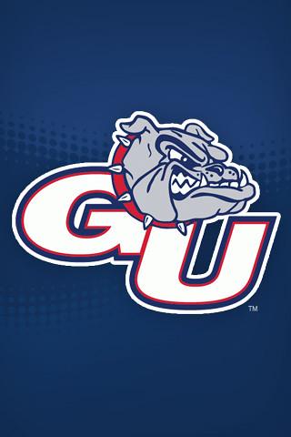 Gonzaga University Bulldogs Athletics logo.