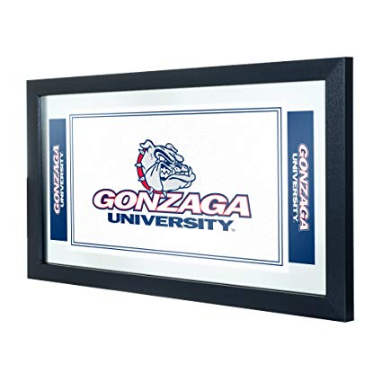 Amazon.com : NCAA Gonzaga University Framed Logo Mirror.