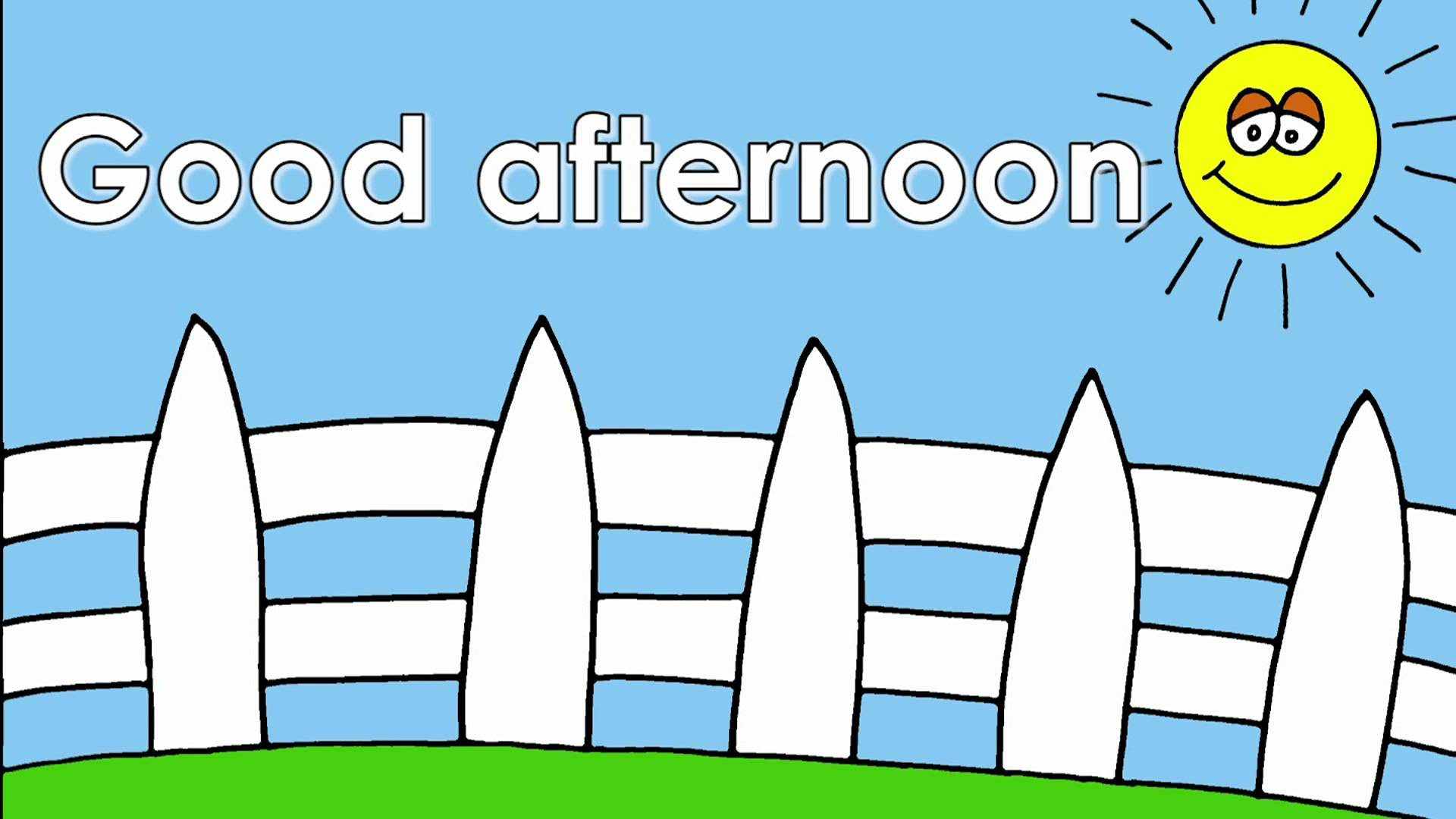 Good afternoon clipart 7 » Clipart Station.