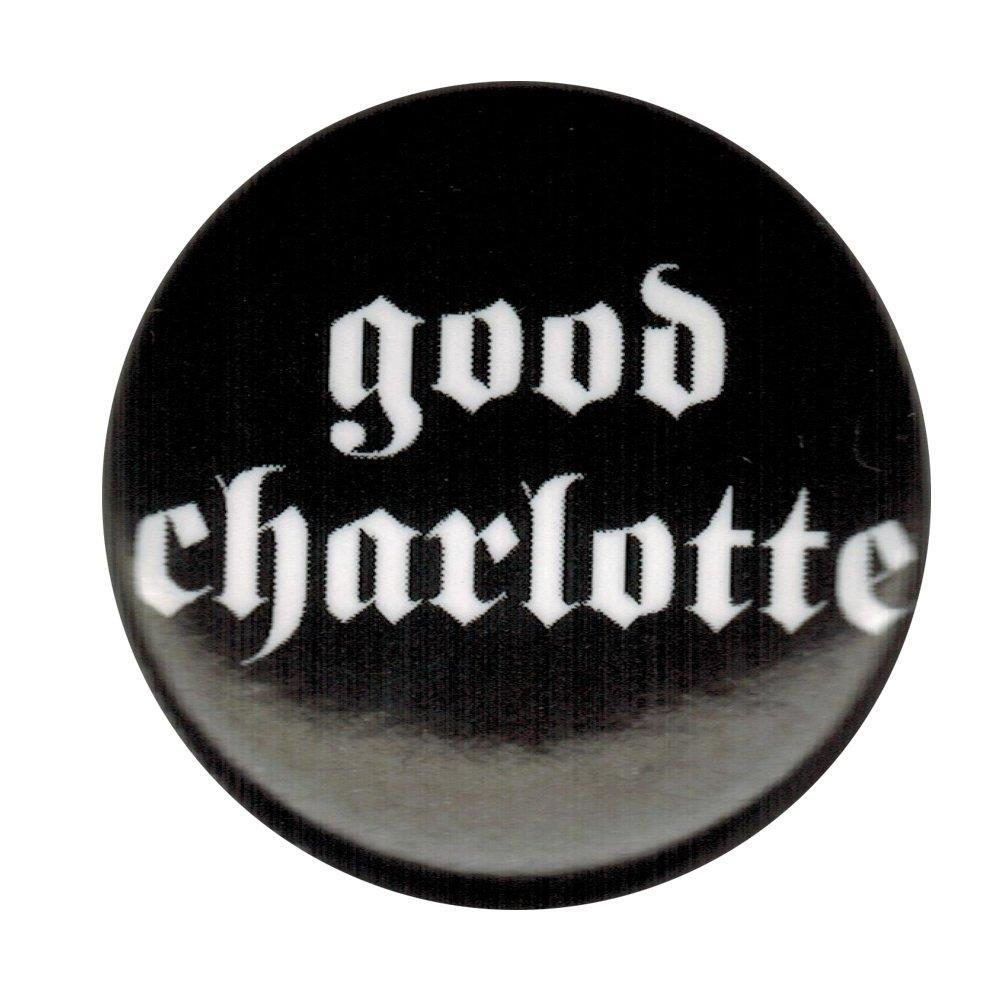 Good Charlotte Logo Small Round Button.