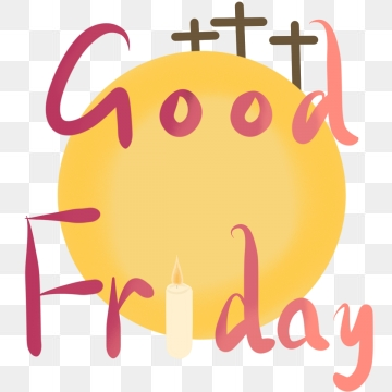 Good Friday Png, Vector, PSD, and Clipart With Transparent.