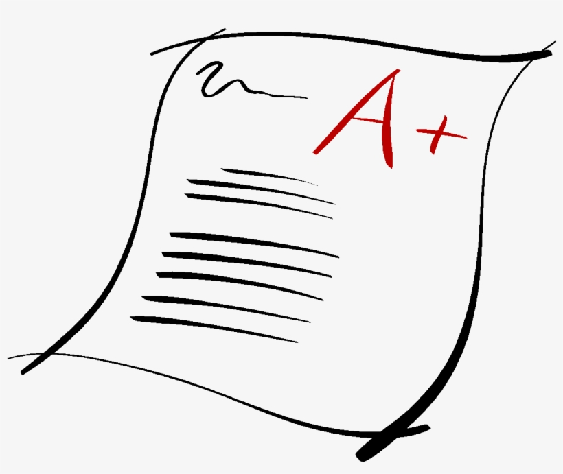 Paper Clipart Grade.