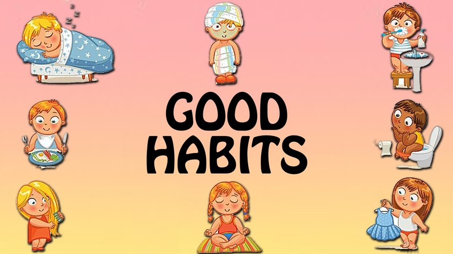 Download good habits in telugu clipart Habit Child Etiquette.