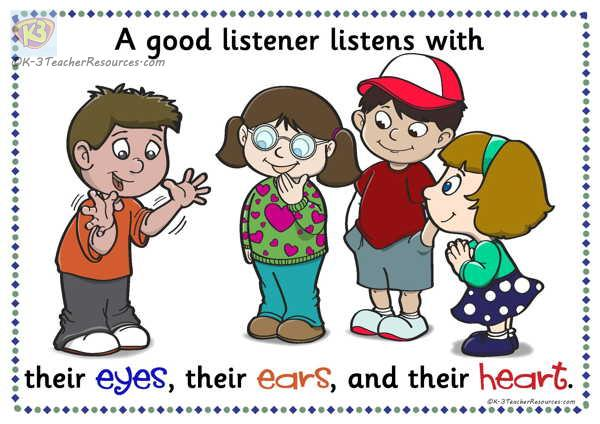 Good listener clipart 6 » Clipart Station.