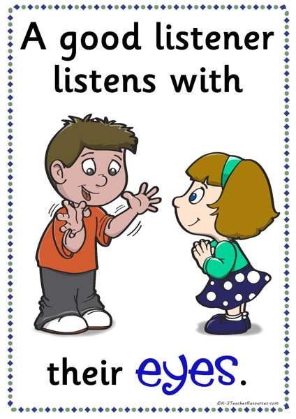 Good Listener Clipart (38+).