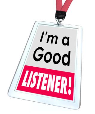 Good Listener Clipart.