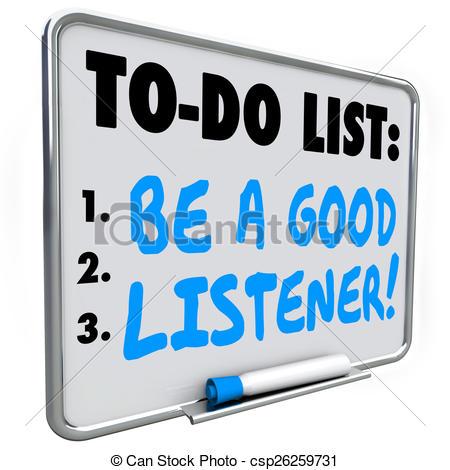 Good listener Clip Art and Stock Illustrations. 239 Good listener.