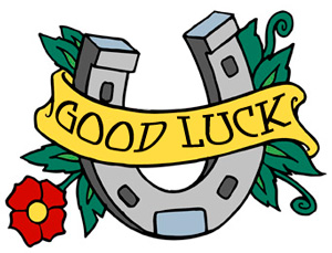 Good luck clipart 3.