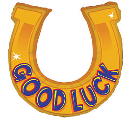 Good Luck Horseshoe Clipart.